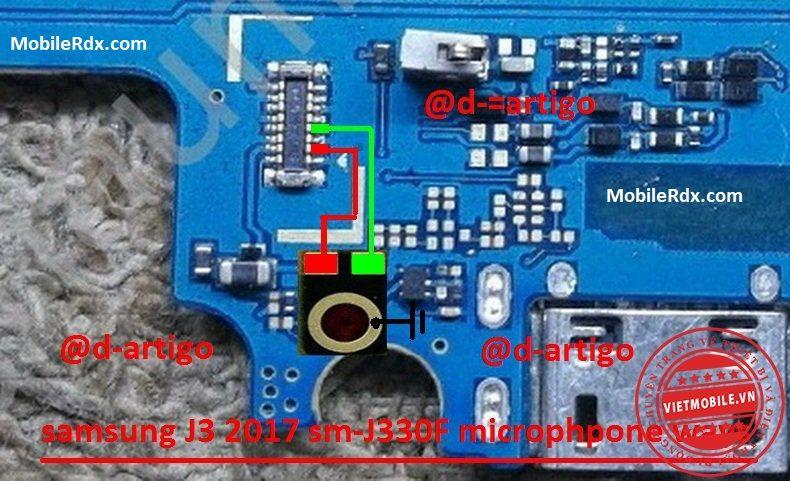 Samsung Galaxy J3 J330F Mic Problem Jumper Ways Solution