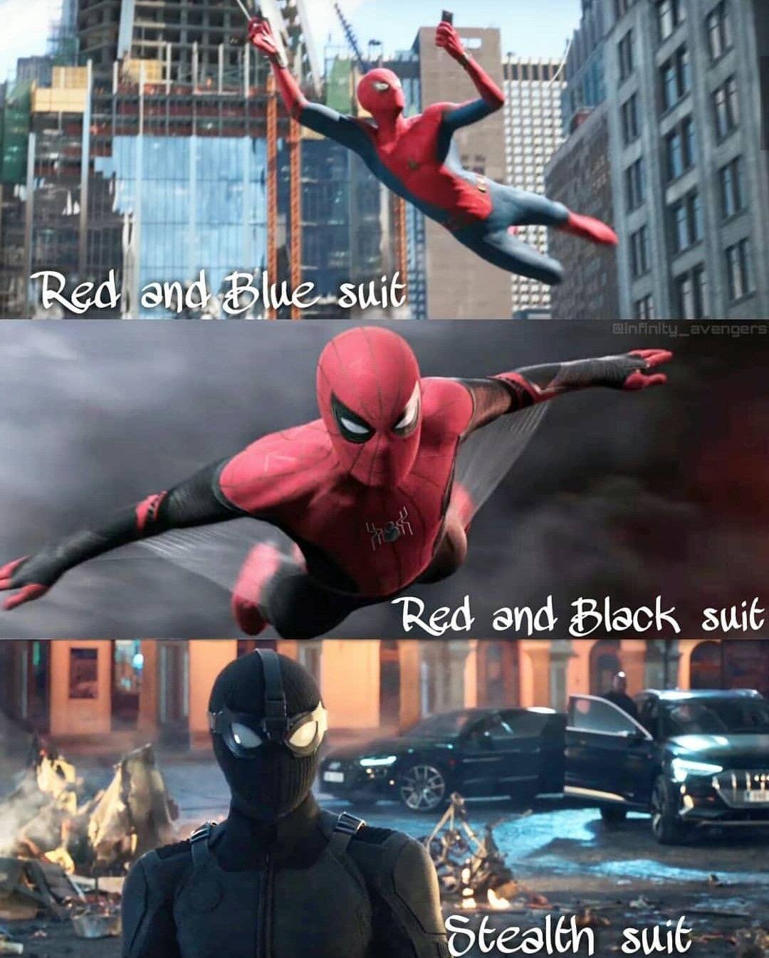 MCU Spider-Man Suits | Marvel | Marvel, Marvel universe, Spiderman