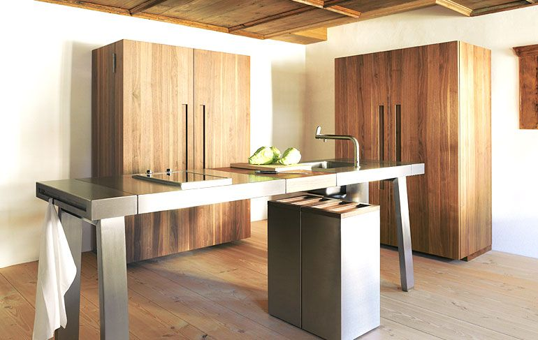 The Other Women Apart From The Boffi K2 This Is The Other Perfect Kitchen The Famous Bulthaup B2 Inspi Vrijstaande Keuken Keuken Inspiratie Keuken Ontwerp