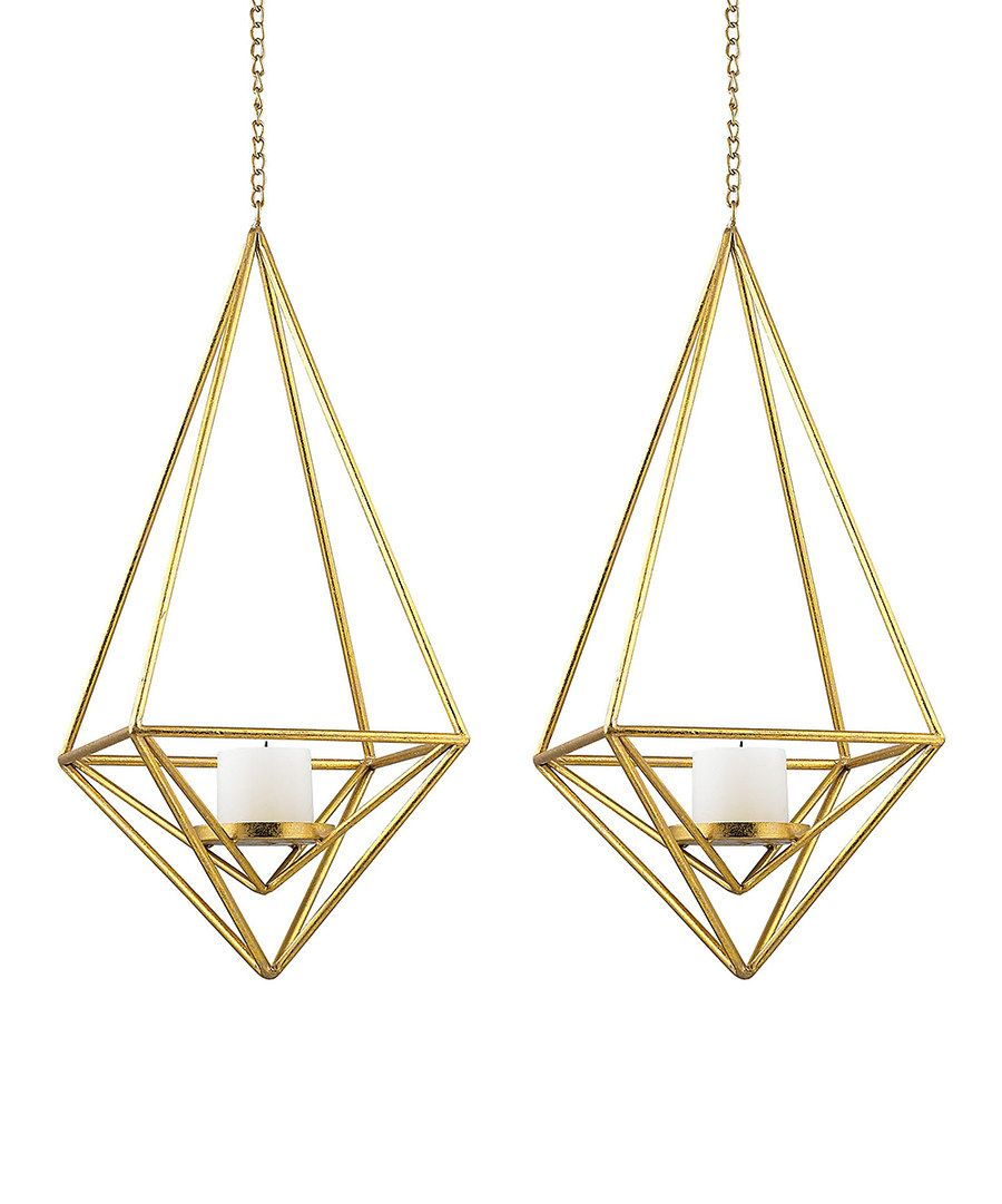 Look at this Diamond Pillar Light Pendant - Set of Two on #zulily today!