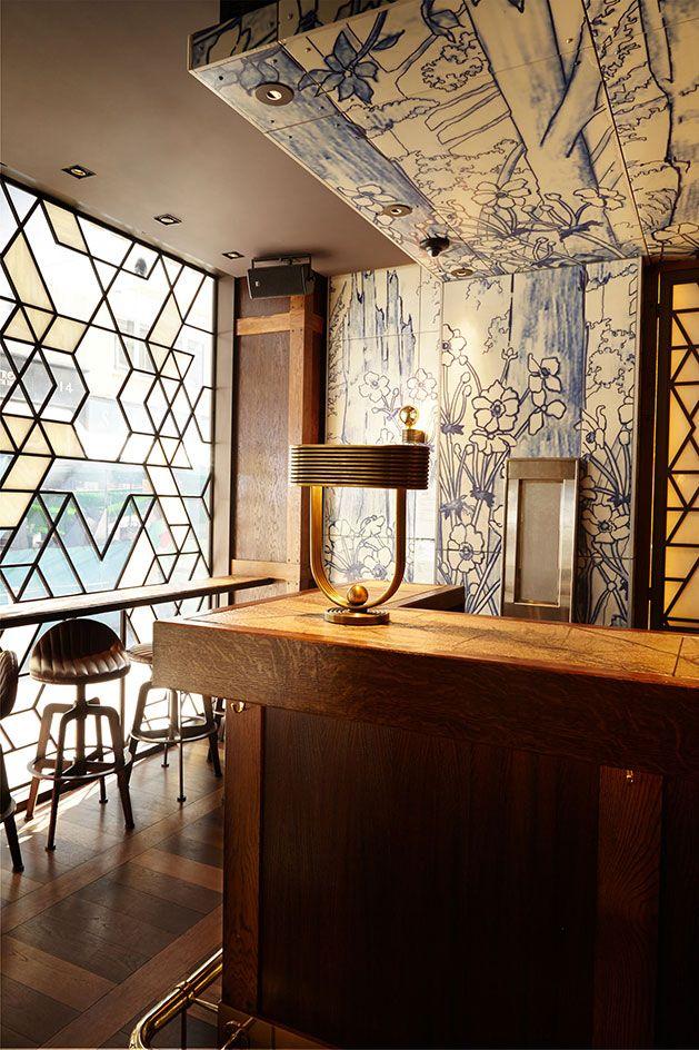 Duck Rice London Uk Restaurant Interior Bar Design