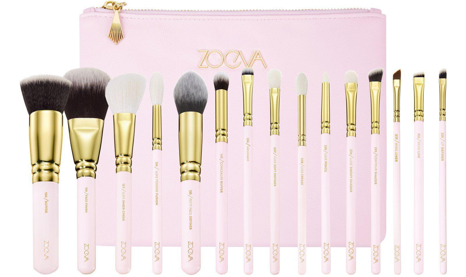 SCREEN QUEEN COMPLETE SET Makeup brush set best, Best