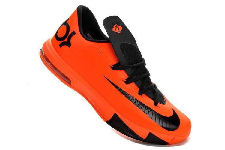 new product e0fb5 17b94 Nike KD VI (6) Team Orange Black Shoes