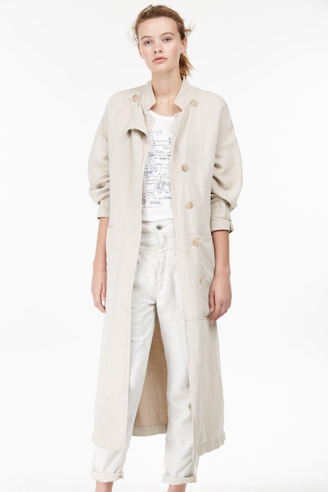 Lyocell Linen Coat Giacca ´85
