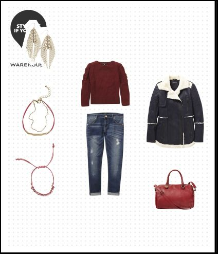Check out the Warehouse outfit I styled \ create your own to win a - create your own voucher