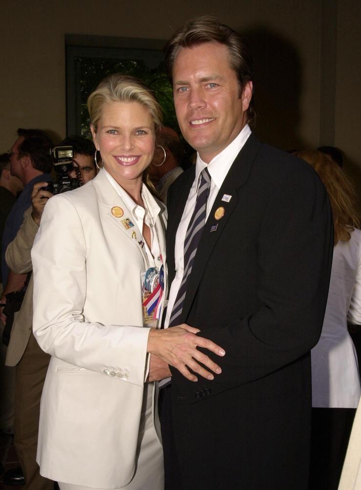 2005 Christie Brinkley and Peter Cook Christie brinkley