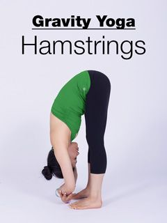 this gravity yoga session targets hamstrings providing a