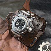 Стимпанк часы наручные