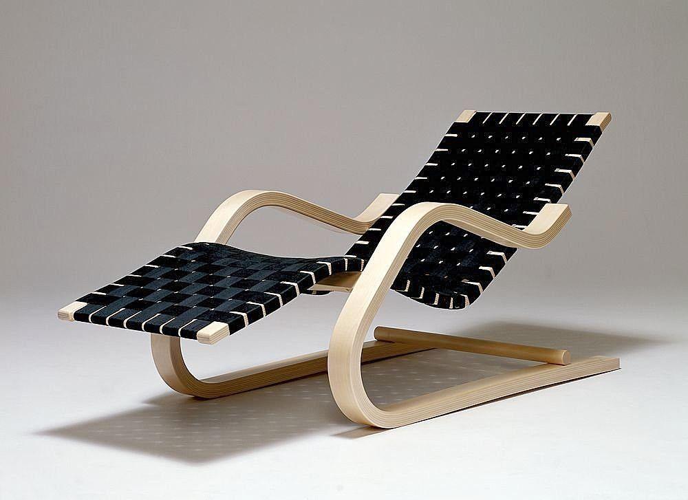 chaise longue 43, Artek, by Alvar Aalto  Product Design, Industrial Design, ...