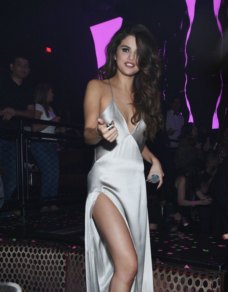 ed63bdd35f6f Selena Gomez Celebrates Her Revival Tour With a Sexy Night Out in Sin City