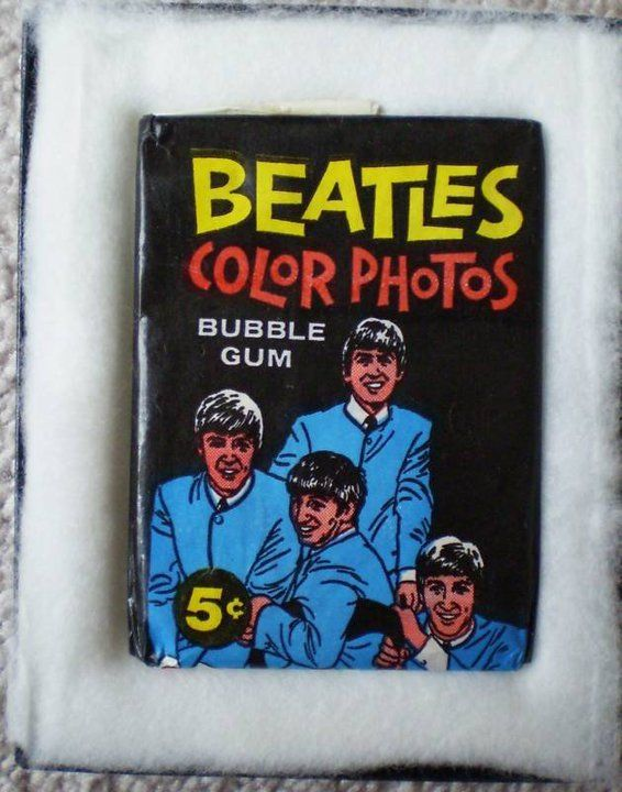 567cfe218f0 The Beatles Bubble Gum Trading Cards. Valuable today. I have all three sets  mounted in an airtight album... JamesAZiegler.com