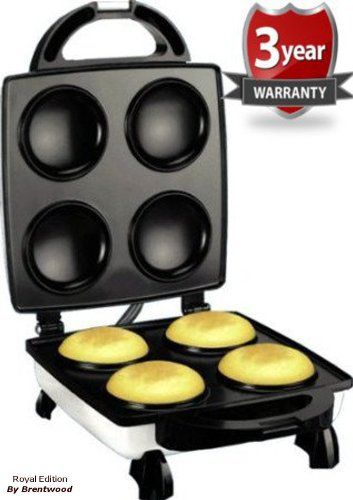 Royal Arepa Maker Smart Electric Non Stick Surface 4