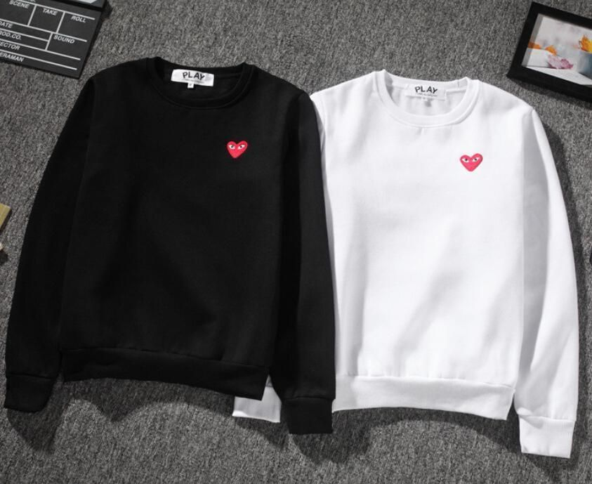 Men's Japan Style Comme Des Garcons Play Cdg Sweater Play