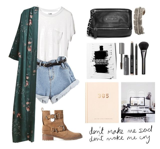"""""""Sin título #627"""" by trendy-outfits ❤ liked on Polyvore featuring Cheap Monday, WithChic, Zara, Givenchy, kikki.K, Bobbi Brown Cosmetics, Gucci and Yves Saint Laurent"""