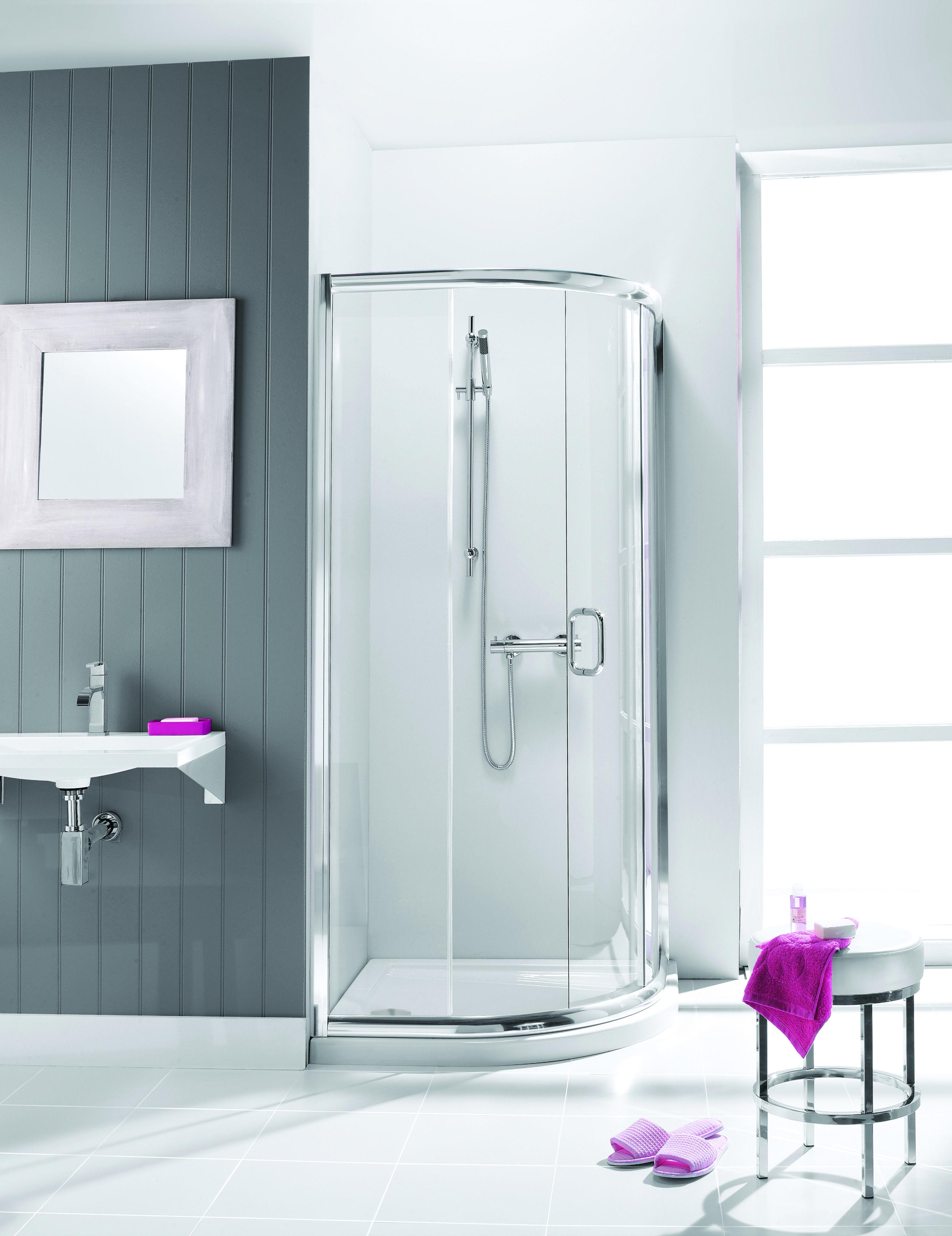 Supreme Quadrant Bathroom Shower Enclosure from Crosswater http ...
