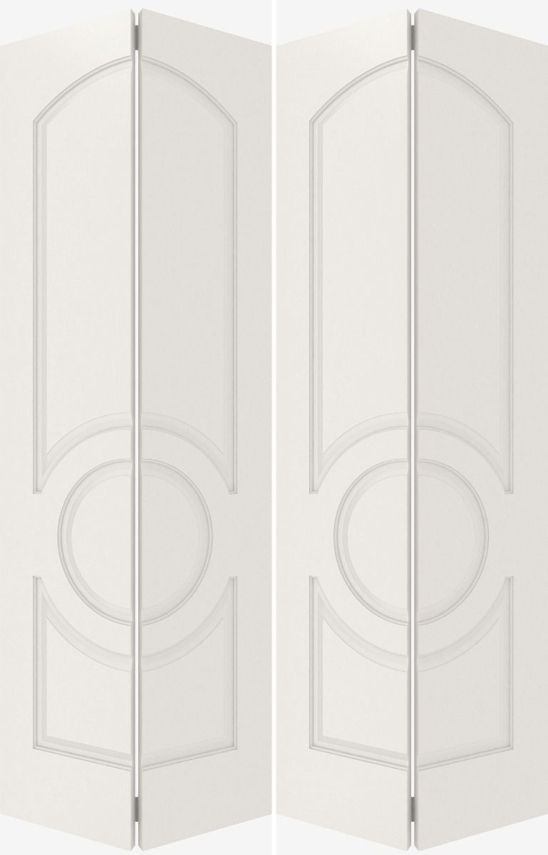 3120 Mdf 3 Panel Arch Panel Circle Interior Double Door In 2020 Double Doors Interior Double Doors Paneling