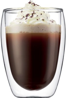 Beautiful and modern coffee glass and the double layers should keep the heat better.