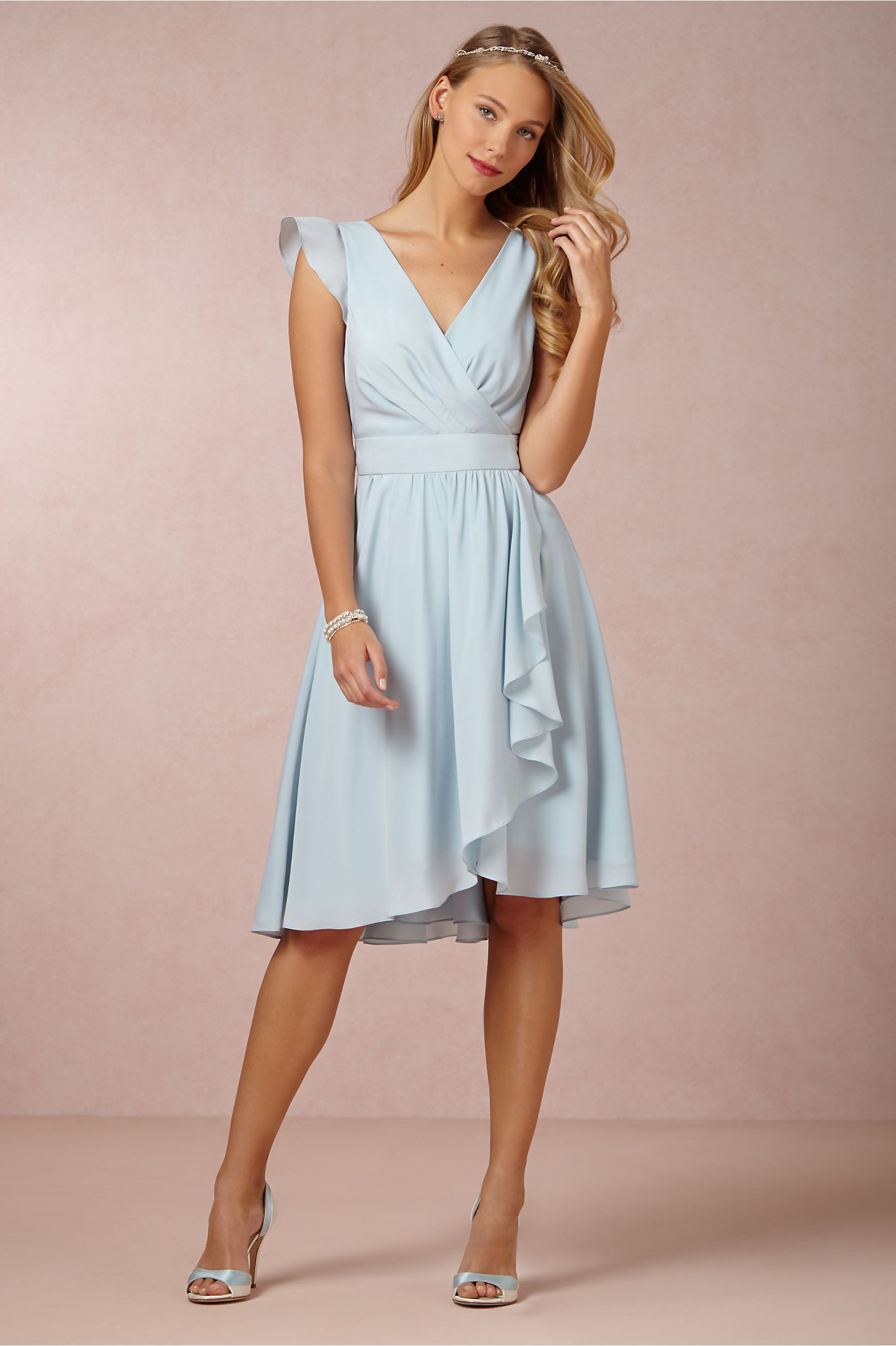 Sydney Dress from BHLDN.  220. Made by Hitheto. Same as Lilly and Meghan s  dress. Crepe fabric. Perfect! 861f4e93bc5