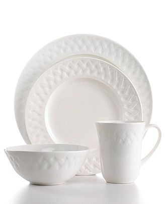 Martha Stewart Collection Dinnerware French Cupboard 16 Piece Set - Casual Dinnerware - Dining u0026 Entertaining - Macyu0027s  sc 1 st  Pinterest & Martha Stewart Collection Dinnerware French Cupboard 16 Piece Set ...