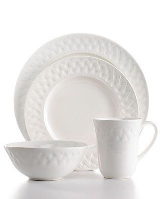 Martha Stewart Collection Dinnerware French Cupboard 16 Piece Set