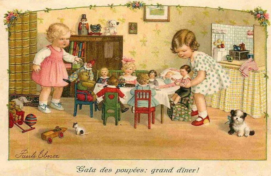 Pauli Ebner (1873-1949) — Old   Post Cards (911x592)