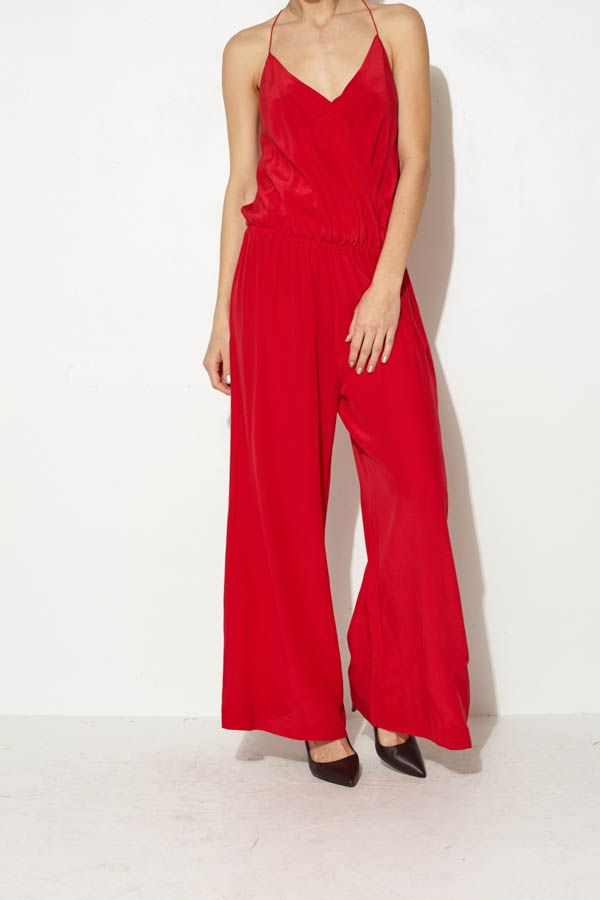 d2efd8c069aee Red Jumpsuit by Paula Hermanny | shopheist.com | Paula Hermanny ...