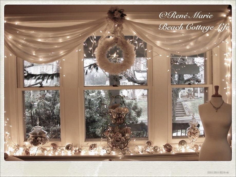Christmas decor Shabby chic Pinterest Christmas decor and Yule - christmas decor pinterest