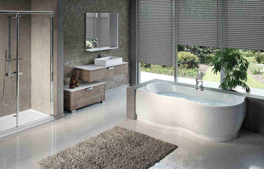 con le #vasche da #bagno #novellini ti regali un momento di puro ... - Arredo Bagno Novellini