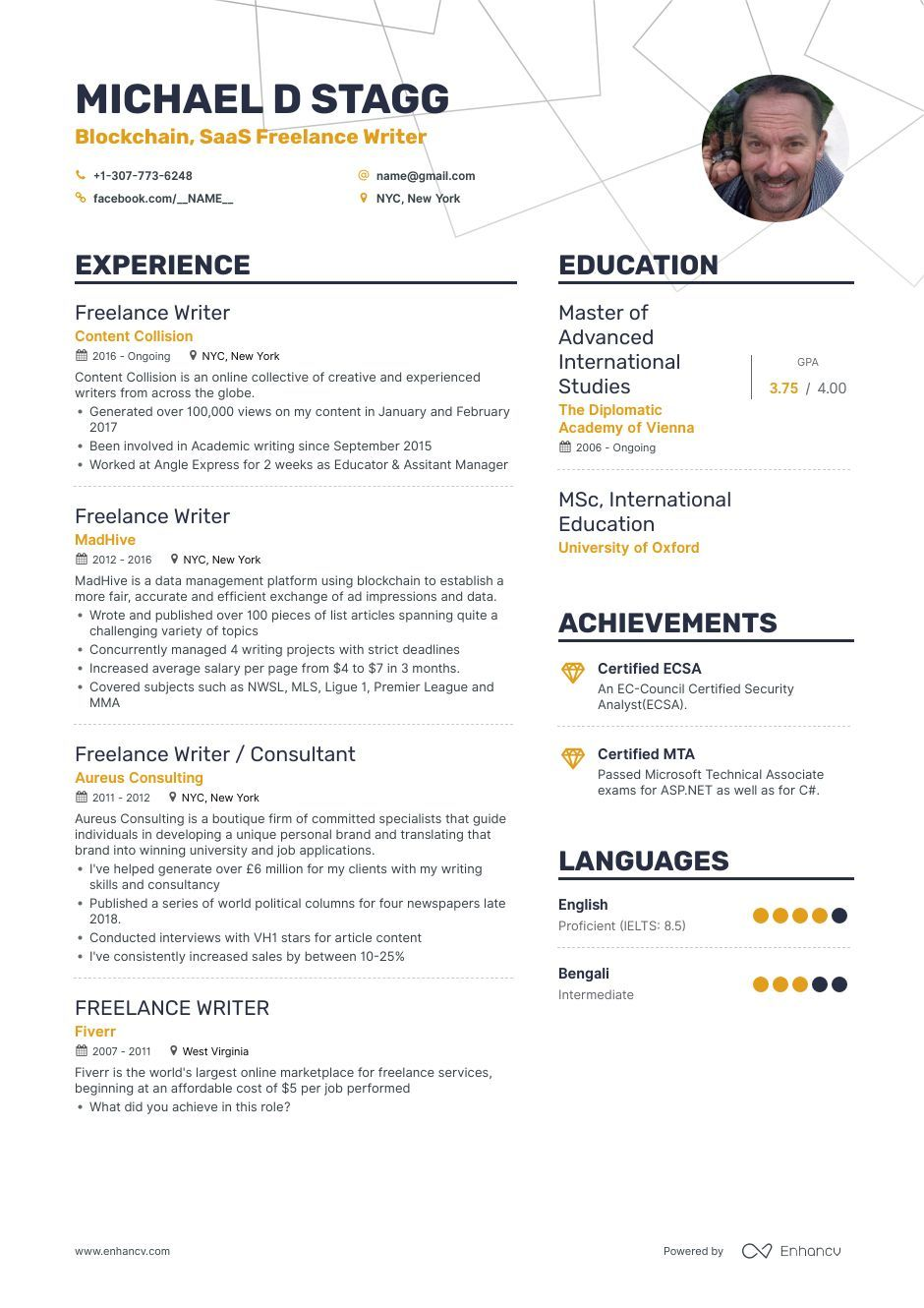 Freelance Writer Resume Examples and Skills You Need to