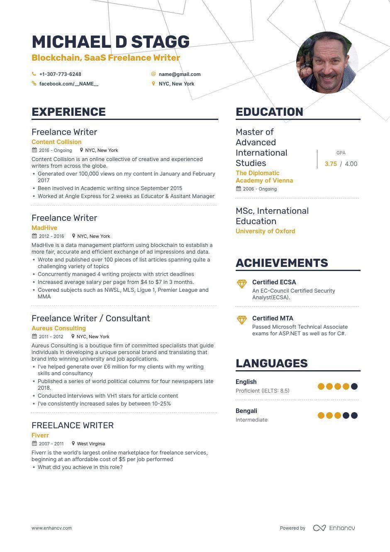 22+ Best free resume writer ideas in 2021