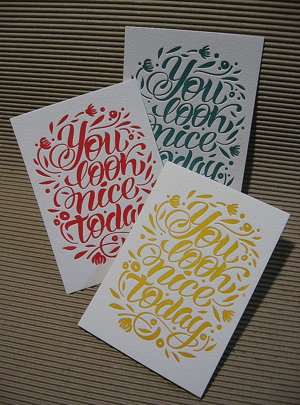 IMG_0213_ | Card with lettering. Designed and ordered by Kat… | Flickr - Photo Sharing!
