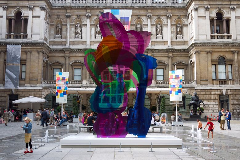 Jeff Koons Coloring Book Sculpture Sold For Over 13 Million Usd Book Sculpture Jeff Koons Coloring Books