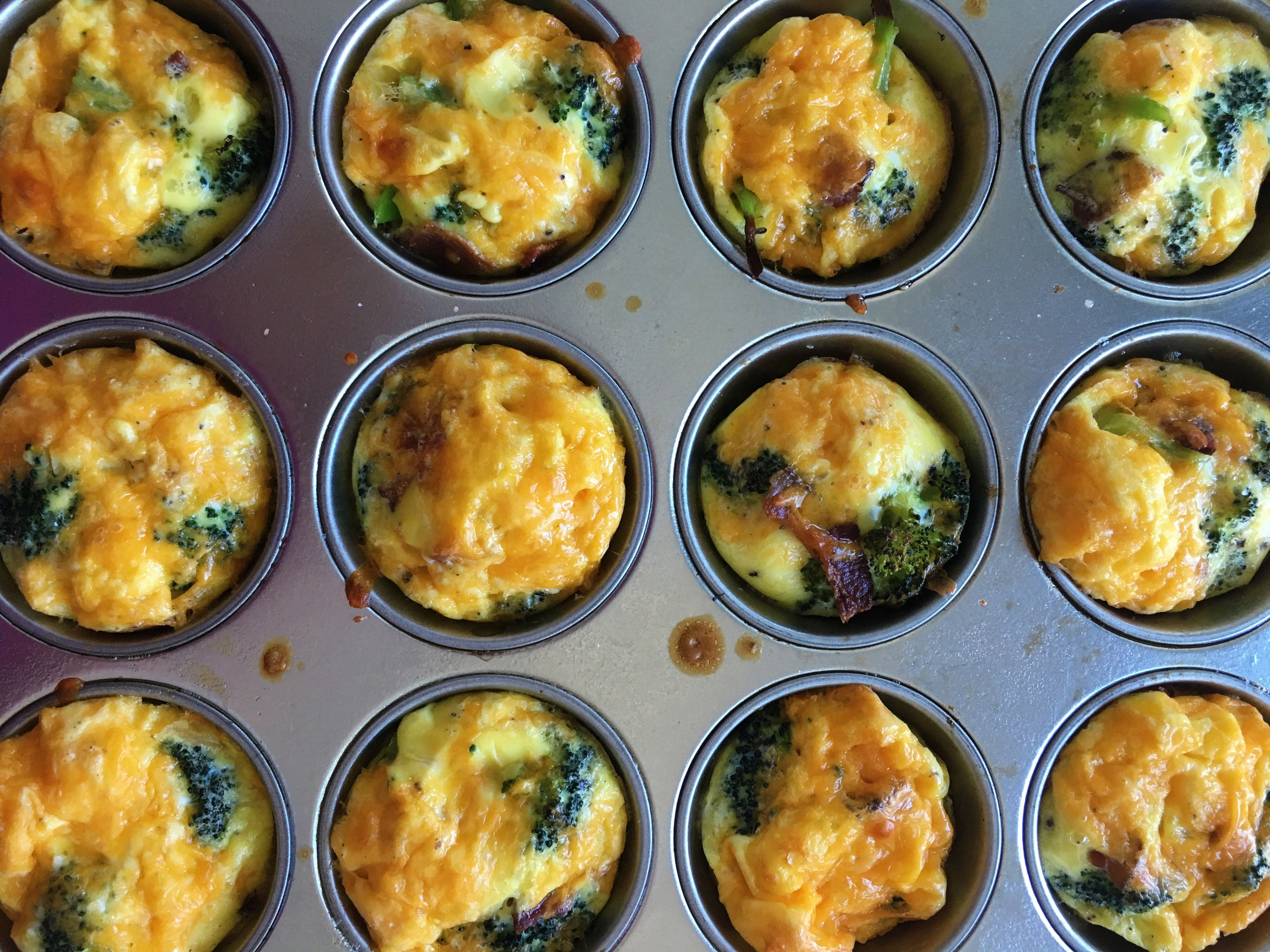 Here's an easy make-ahead breakfast that'll have you set for the week. You get two mini frittatas per serving for only 168 calories; pair... #baconfrittata