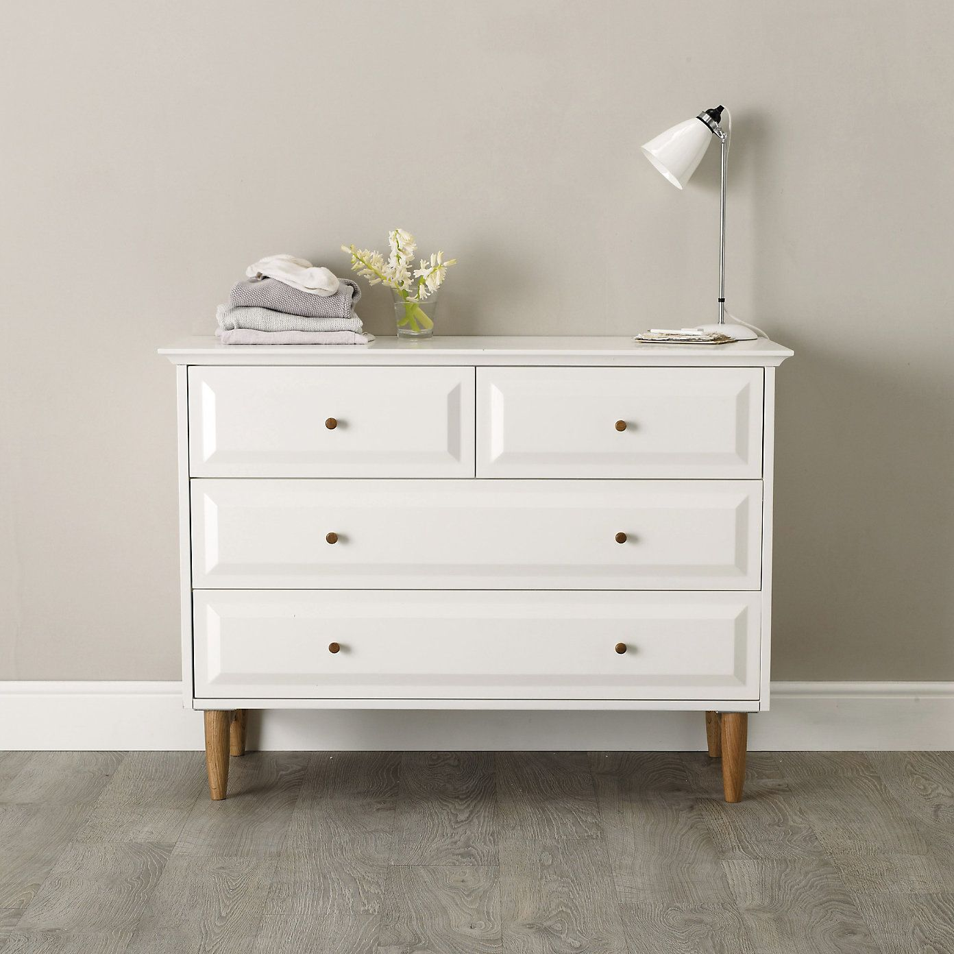 new style 36f89 6039c Devon 4-Drawer Chest Of Drawers | The White Company ...