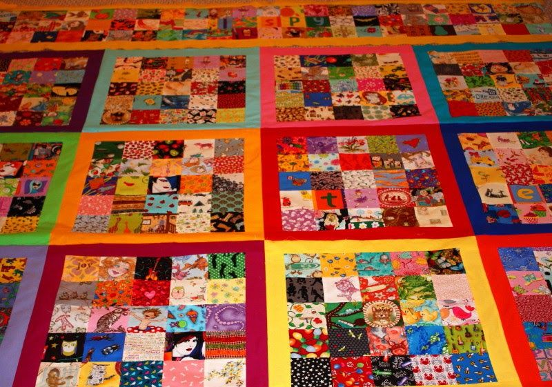 It seems I have been working on this I Spy quilt a long time ... or maybe it just feels that way because the kids keep asking me if it's do...