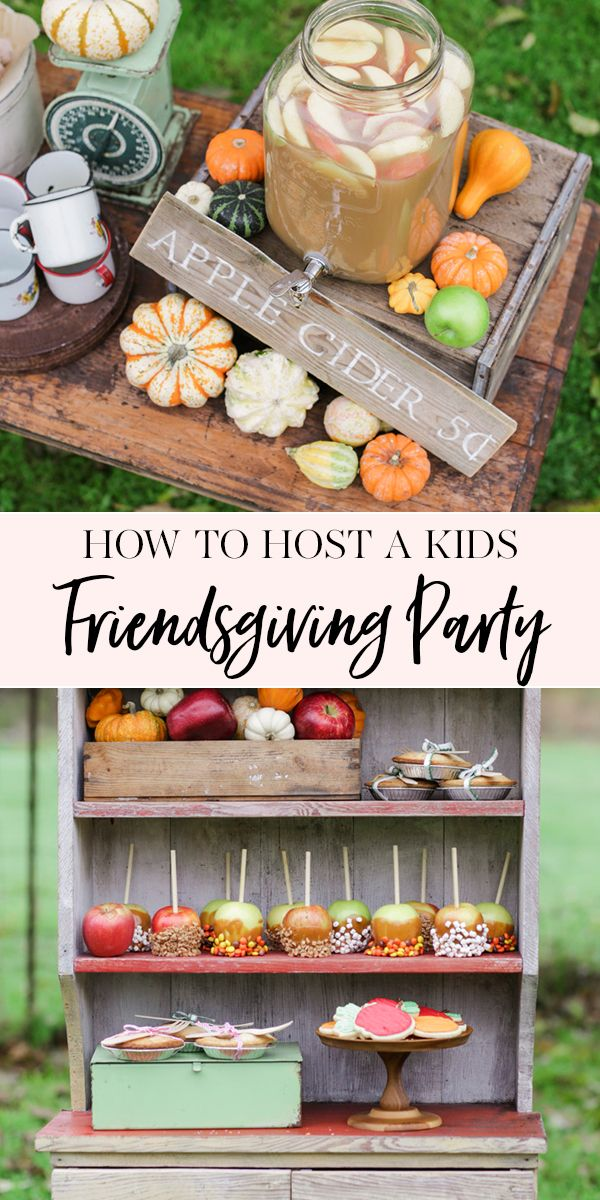 How to Host a Kids Friendsgiving Party