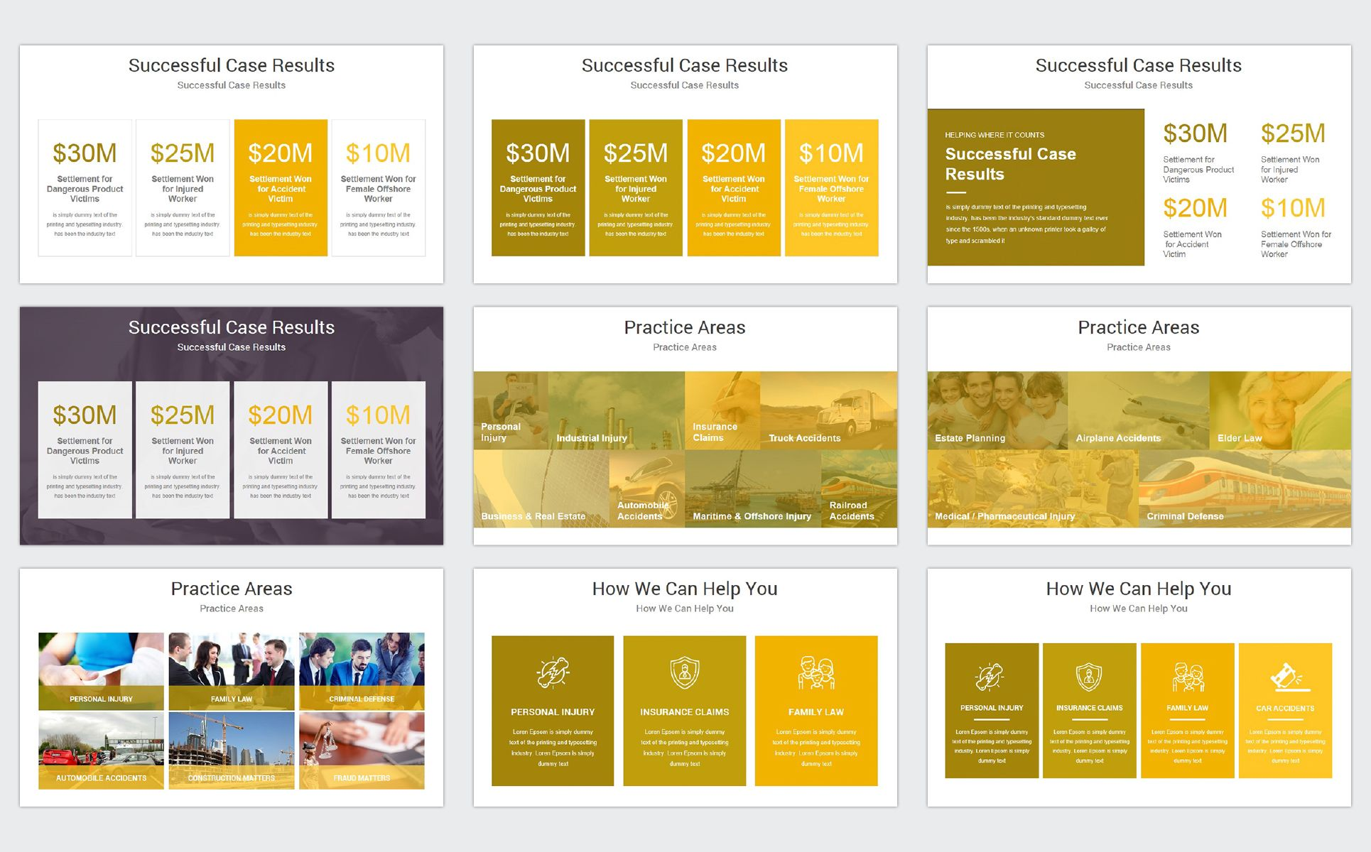 Law Firm Powerpoint Template 68684 Powerpoint