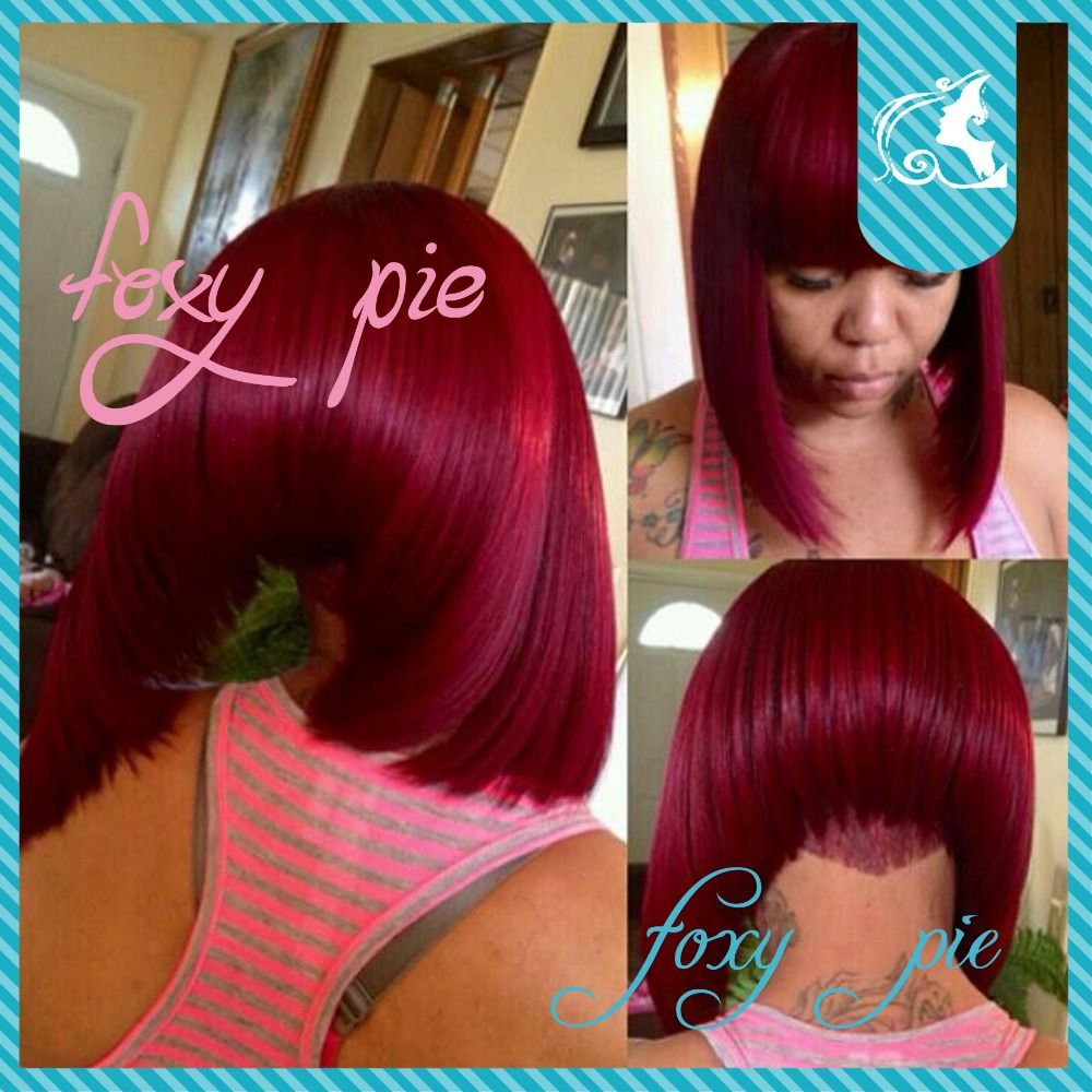 Enjoyable Bobs Colors And Vixen Sew In On Pinterest Hairstyles For Women Draintrainus