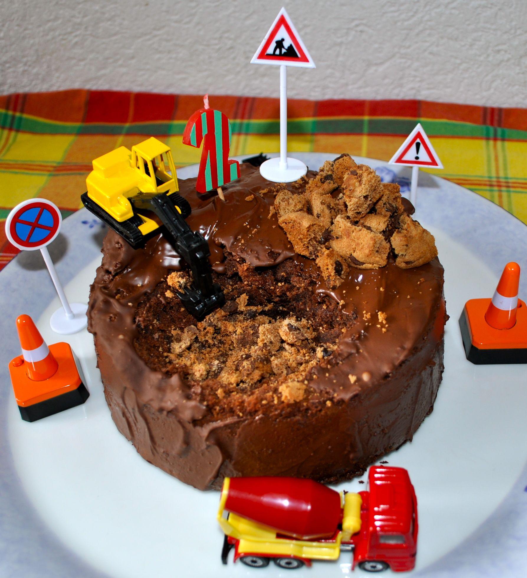 Pin By Samp Laster On Carros: Geburtstagskuchen-Baustelle