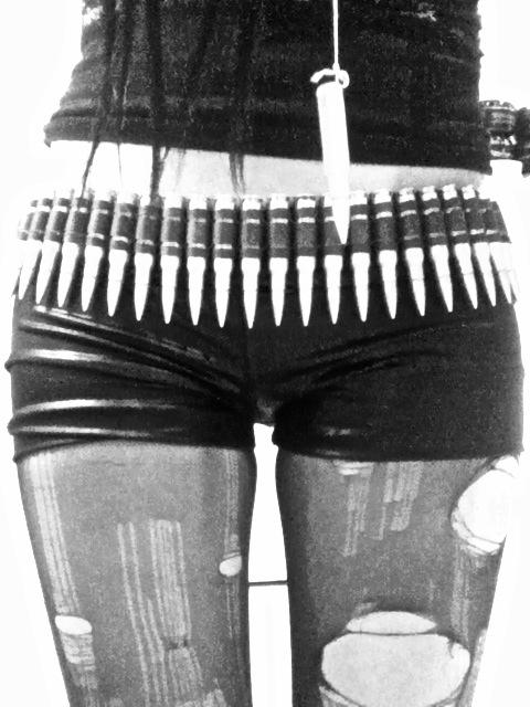 Bullet Belt Punk Fashion Metal Fashion Goth Fashion