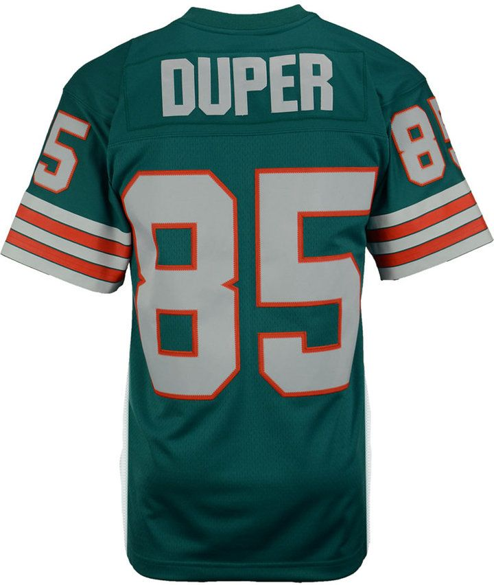 best website 149dd 27848 Mitchell & Ness Men's Mark Duper Miami Dolphins Replica ...