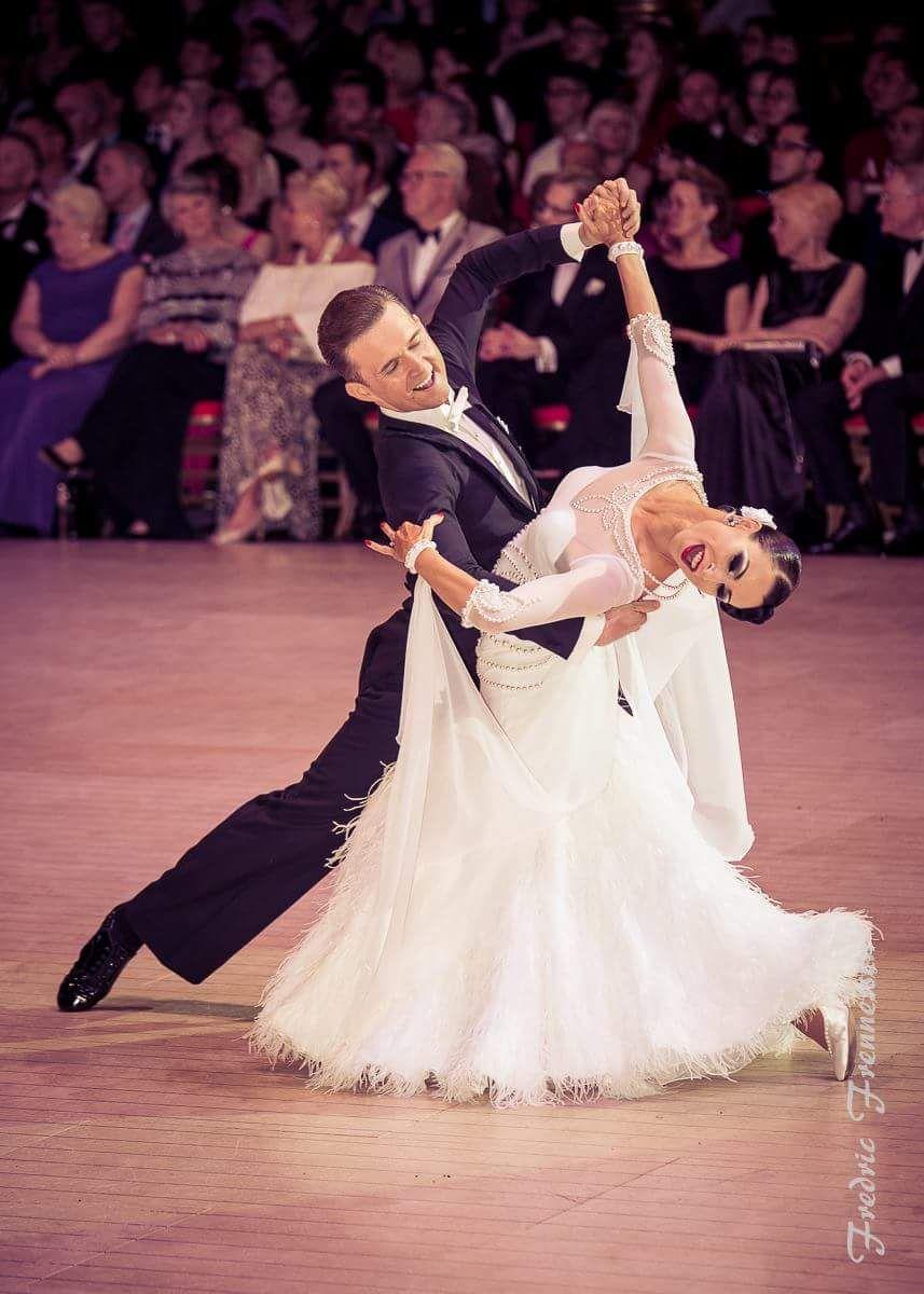 Domen Krapez And Natascha Karabey Blackpool Dance Festival Professional Ballroom May 2017 Dance Costumes Ballroom Ballroom Dress Waltz Dance