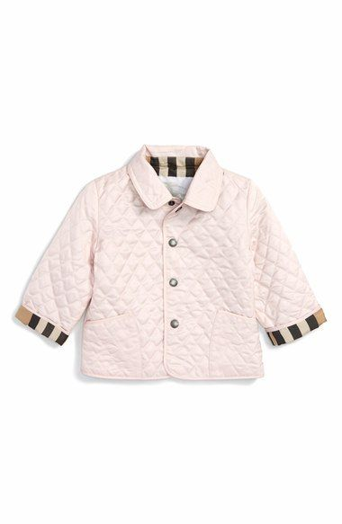 Burberry Colin Quilted Jacket Baby Girls Burberry Quilted Jacket Quilted Jacket Outerwear Jackets