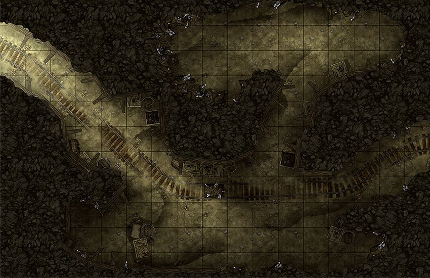 Maphammer is creating battle maps for D&D, Pathfinder and