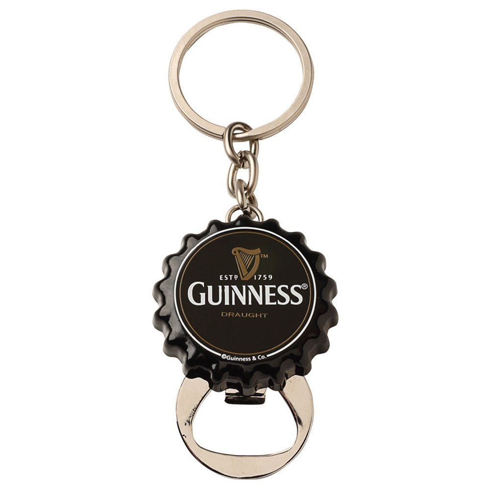 Flip Down Bottle Opener Keychain Guinness Ireland Collection