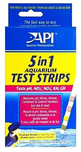 5in1 Aquarium Ph Test Strips Nitrite Nitrate Gh Kh With Color Charts You Can Get Additional Details At The Image Link Ph Test Strips Color Chart Soil Testing