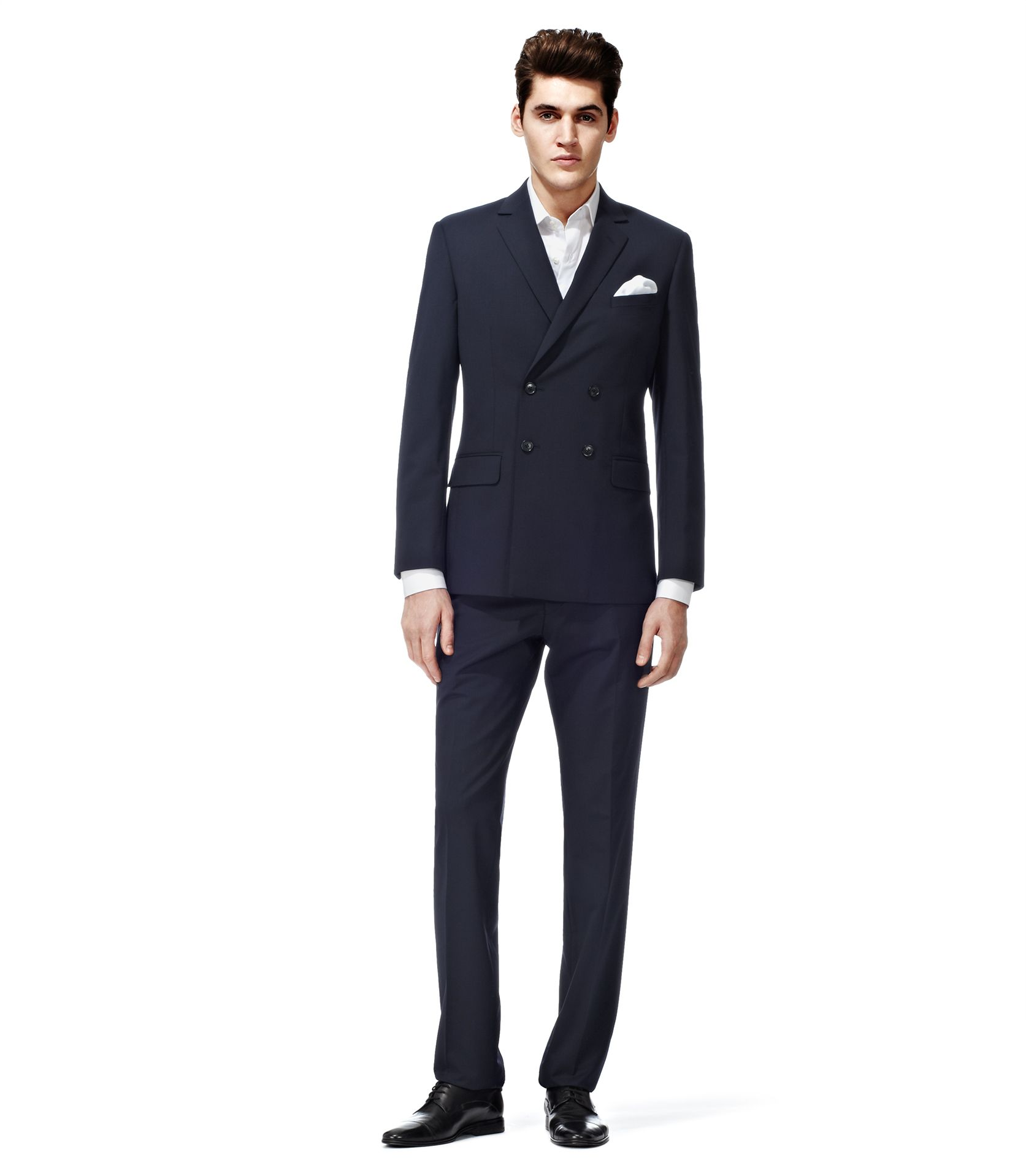 Weatherby navy doublebreasted suit reiss suits pinterest