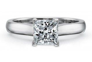 Who likes the princess cut diamond engagement ring?