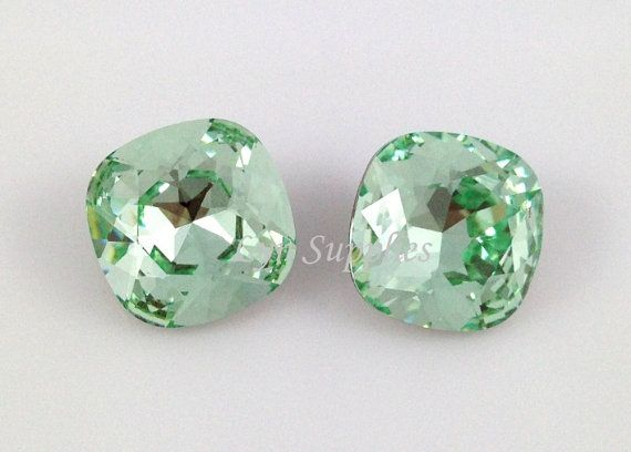 da5ea7a839d93 2pcs 4470 CHRYSOLITE 12mm Swarovski Crystal Fancy by LynSupplies ...