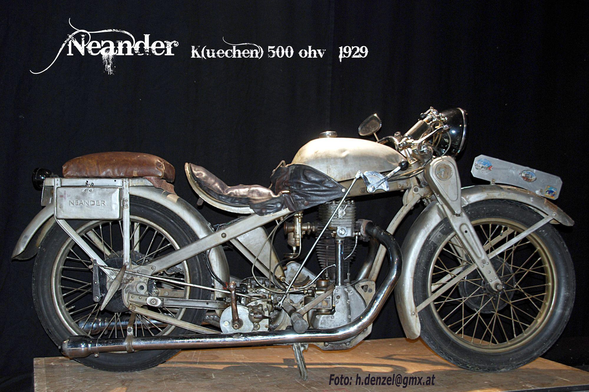 Neander K 500 (Küchen ioe) 1929 | Benzinradl